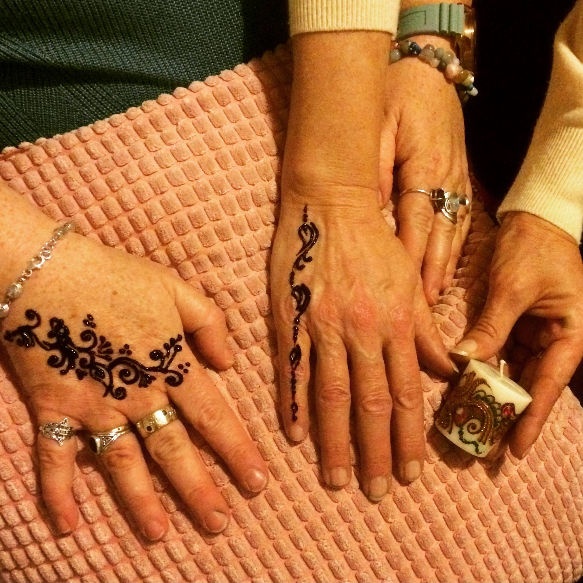 Henna Workshop at The White House