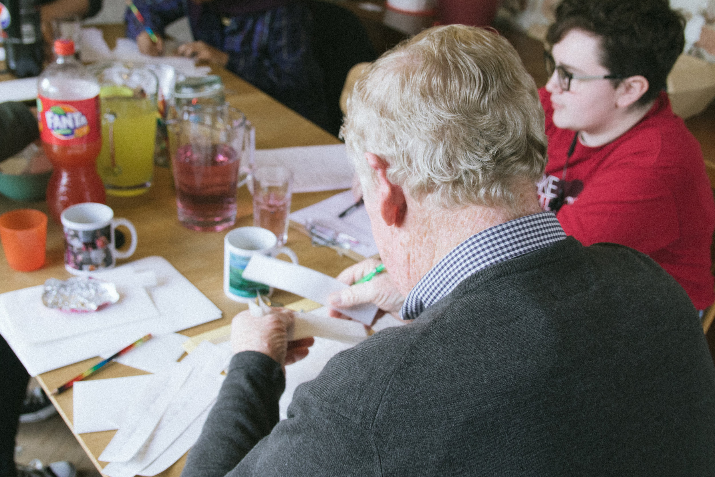 The Sofa Slam writing workshop