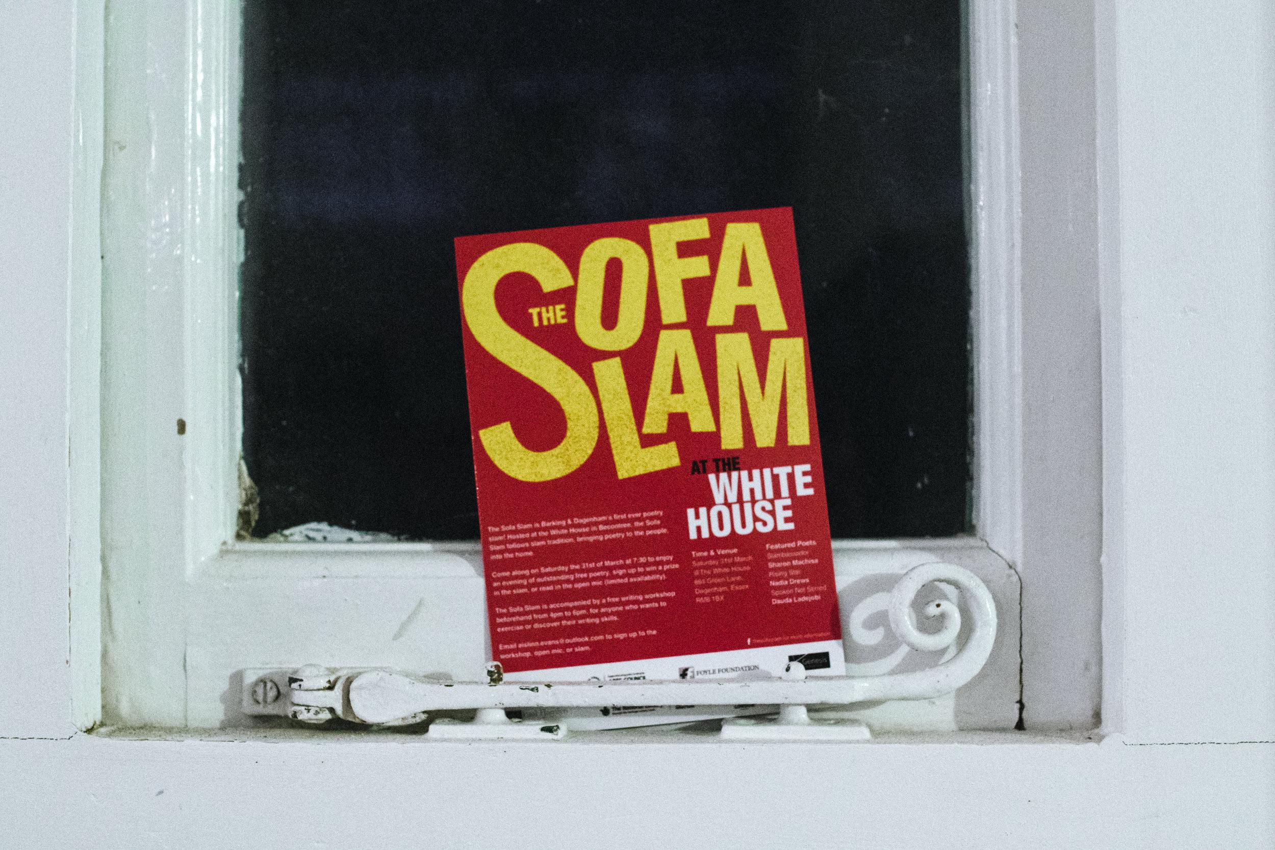 The Sofa Slam at the White House
