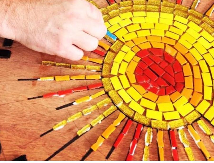 Mosaic workshop at The White House Dagenham
