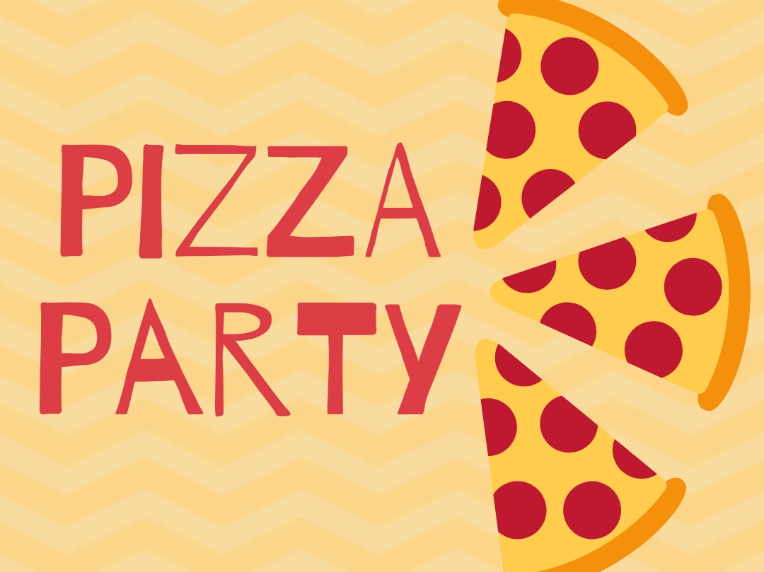 Pizza Party - Chow down with other creatives aged 18-30
