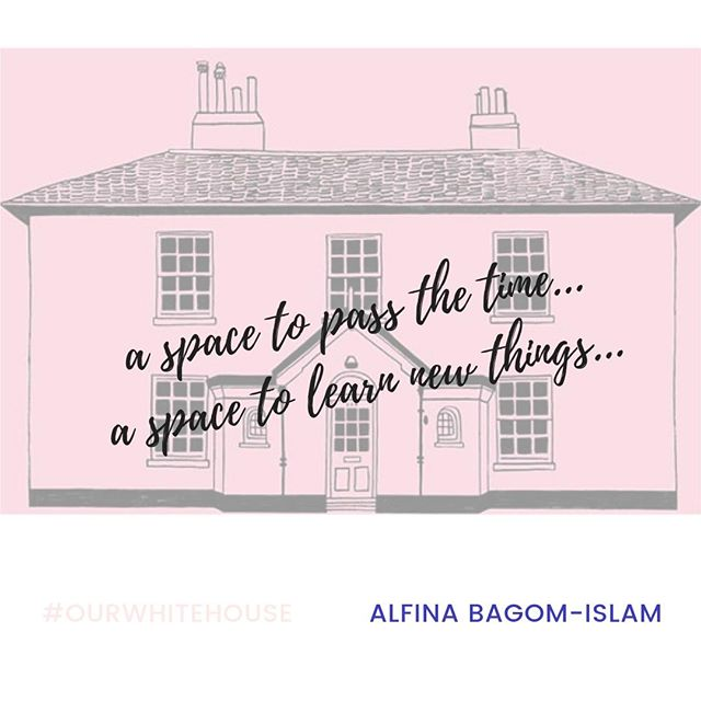 """Alfina first visited The White House on a friend's recommendation. She has taken part in workshops and celebrations and now runs the henna art workshop as part of the Front Room Programme.  . Alfina likes The White House as it provides """"a space to pass the time, a space to learn new things. It is socially inclusive and open to all."""" . The Front Room Programme is a series of public events and workshops that are developed, led and attended by people connected to Barking and Dagenham. This has included arts and crafts groups, poetry slams, coffee mornings, youth groups and film screenings. The Front Room Programme drives forward our exploration into the role of an arts space within a residential estate and builds on our commitment to providing opportunities for creative and professional development; and supporting the creation of new routes into the creative industries. . . . #ourwhitehouse #thewhitehousedagenham #barkinganddagenham #dagenham #henna #hennaart #inclusive #frontroomprogramme #free #art #igers #artsandcrafts"""