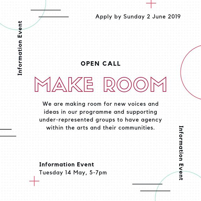 Applications are now open for the Studio and Project Bursaries!  . Join us on Tuesday 14 May, 5pm-7pm, for more information on the programme and how to apply for a Studio or Project bursary . Make Room is a new creative development programme at The White House designed to make room for new voices and ideas in our programme, supporting under-represented groups to have agency within the arts and their communities.  . Studio Bursaries provide free dedicated studio space, access to one-to-one mentoring and a travel stipend with the aim of helping to alleviate the financial constraints of art making and widen access to opportunities within the arts.  . Project Bursaries provide support to develop and test a creative idea that responds to your local community with positive change at its core, with the aim of developing new approaches to community-led programming. . . . #makeroom #ourwhitehouse #whitehousedagenham #dagenham #barkinganddagenham #opencall #artists #artistdevelopment #bursary #projectbursary #studiobursary #igers #artistsoninstagram