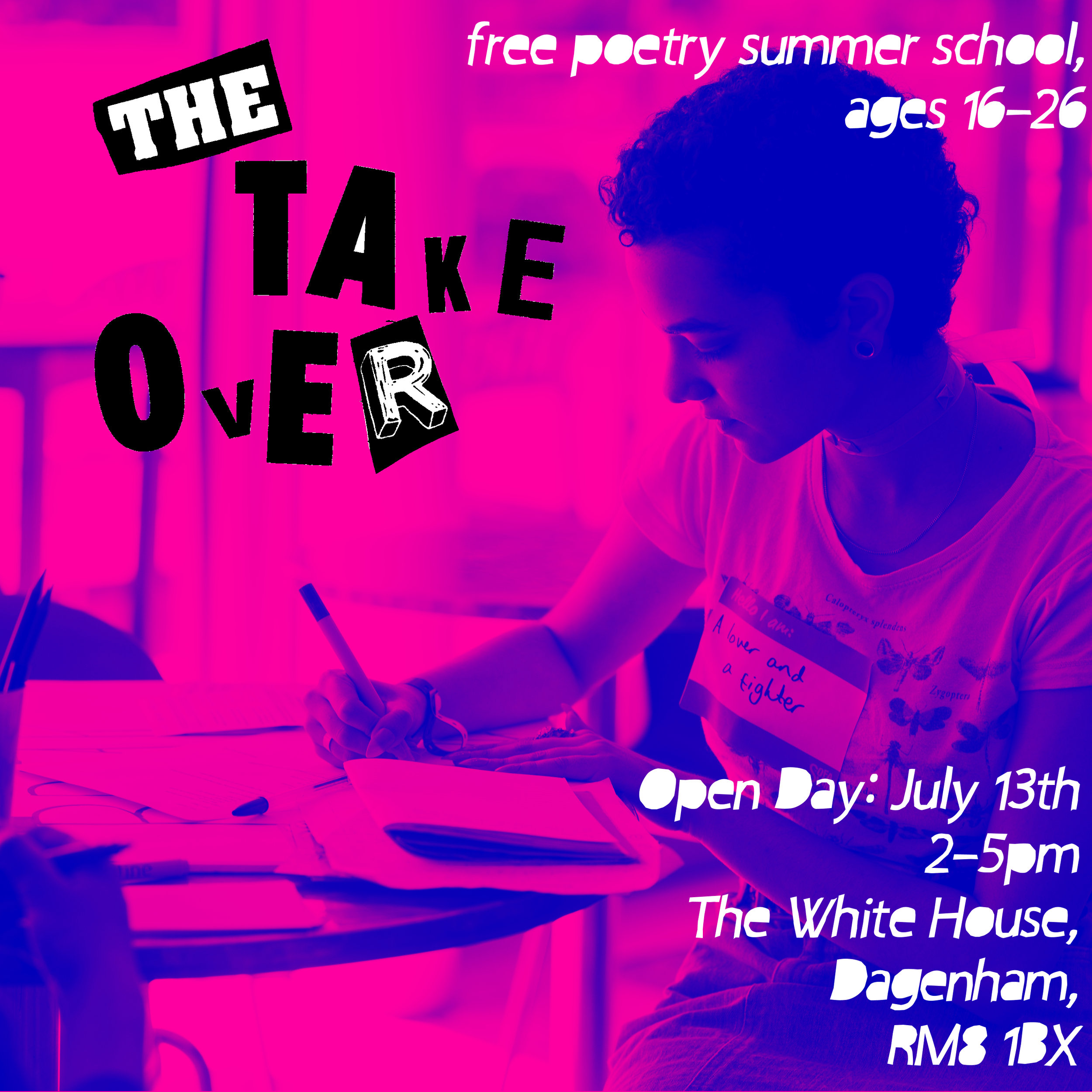The Take Over: Open Day — WhiteHouseArt