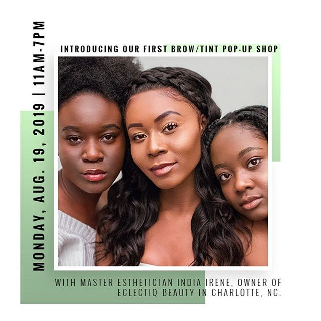 We are so excited to announce our first Pop Up Shop for Brows with India Irene, owner of @eclectiq_beauty based in Charlotte, NC. Check out her page and fall in love with her original work!  We'll see you August 19th. Now accepting appointments 11-7 PM. Slots will fill fast! BOOK her today, link in bio. 🖊💕 . . . . . #asseenincolumbus #columbusbrows #charlottebrows #eyes #beauty #lashes #eclectiqbeauty #waxing #salononeparis #esthetician #eyelashes #beautiful #volumelashes #eyelashextensions #browsonfleek #clusterlashes #makeup #microshading #eyebrows #lashartist #facials #skin #love #skincare #spa #brows