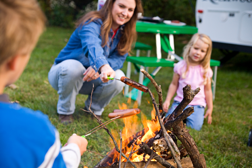 Day Camp + Camping - If your family stays in our Daisy Park Campground the same week your child is in Day Camp, you get your 4th weekday night free! Ask us about it.