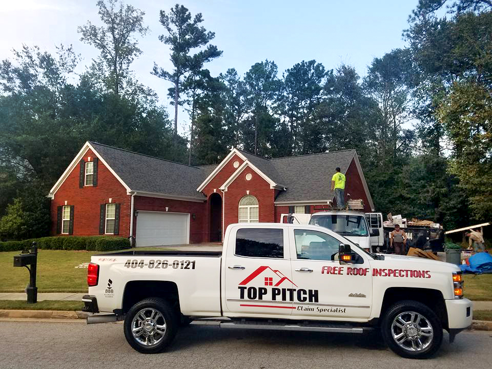 Free Gutters | Top Pitch Roofing | Atlanta Georgia