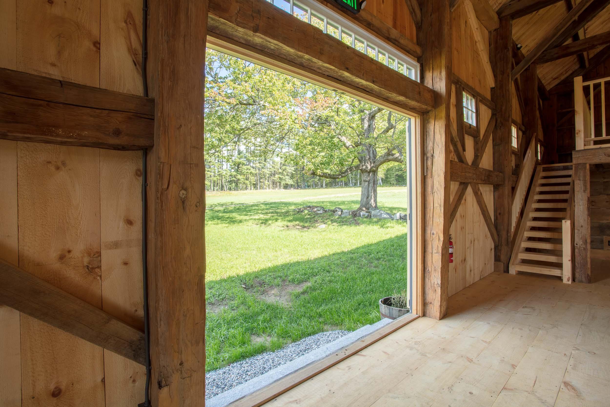 Barn Door View Whiteface Hollow