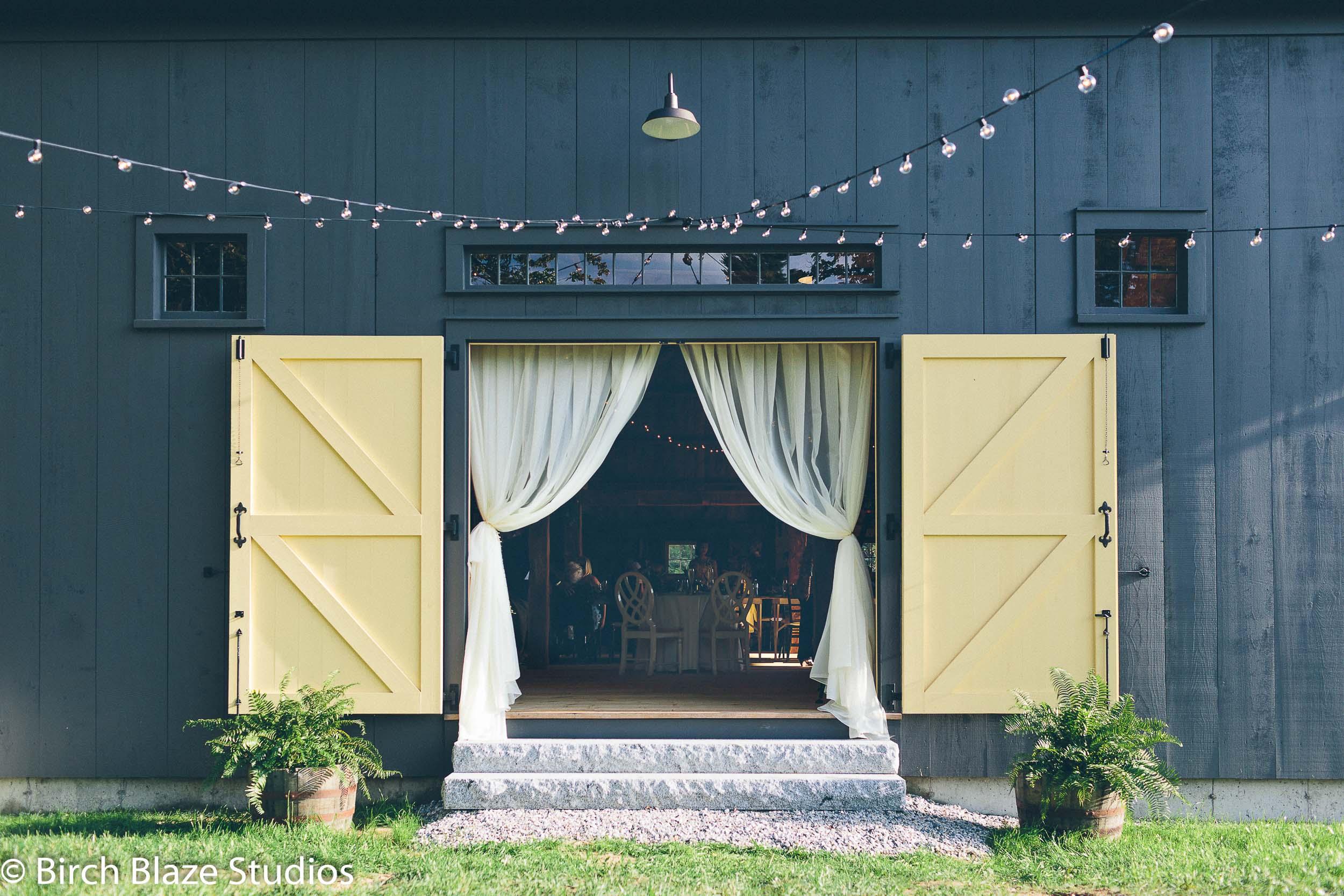 Barn Yellow Doors