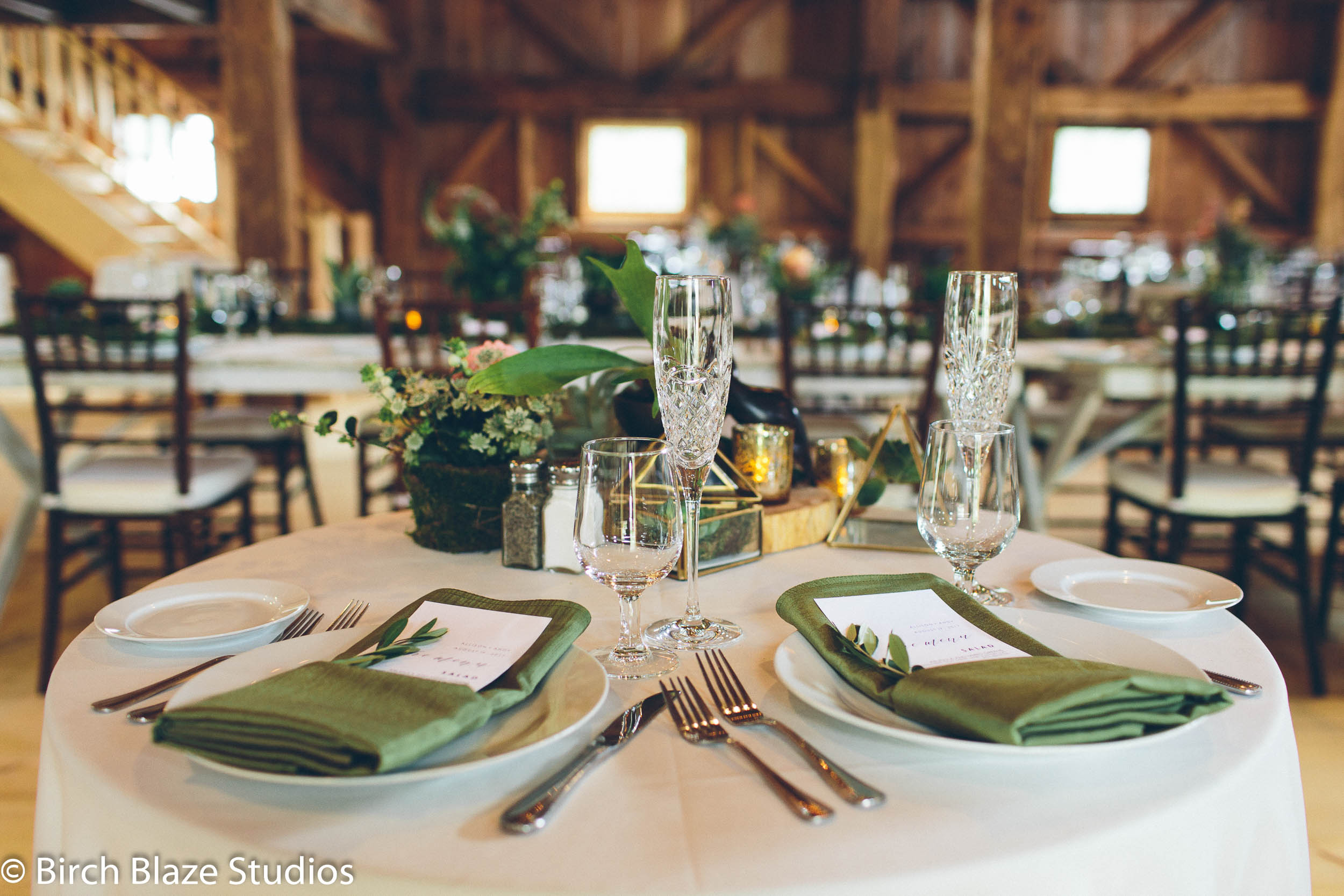 Rustic Barn Lakes Region Tables