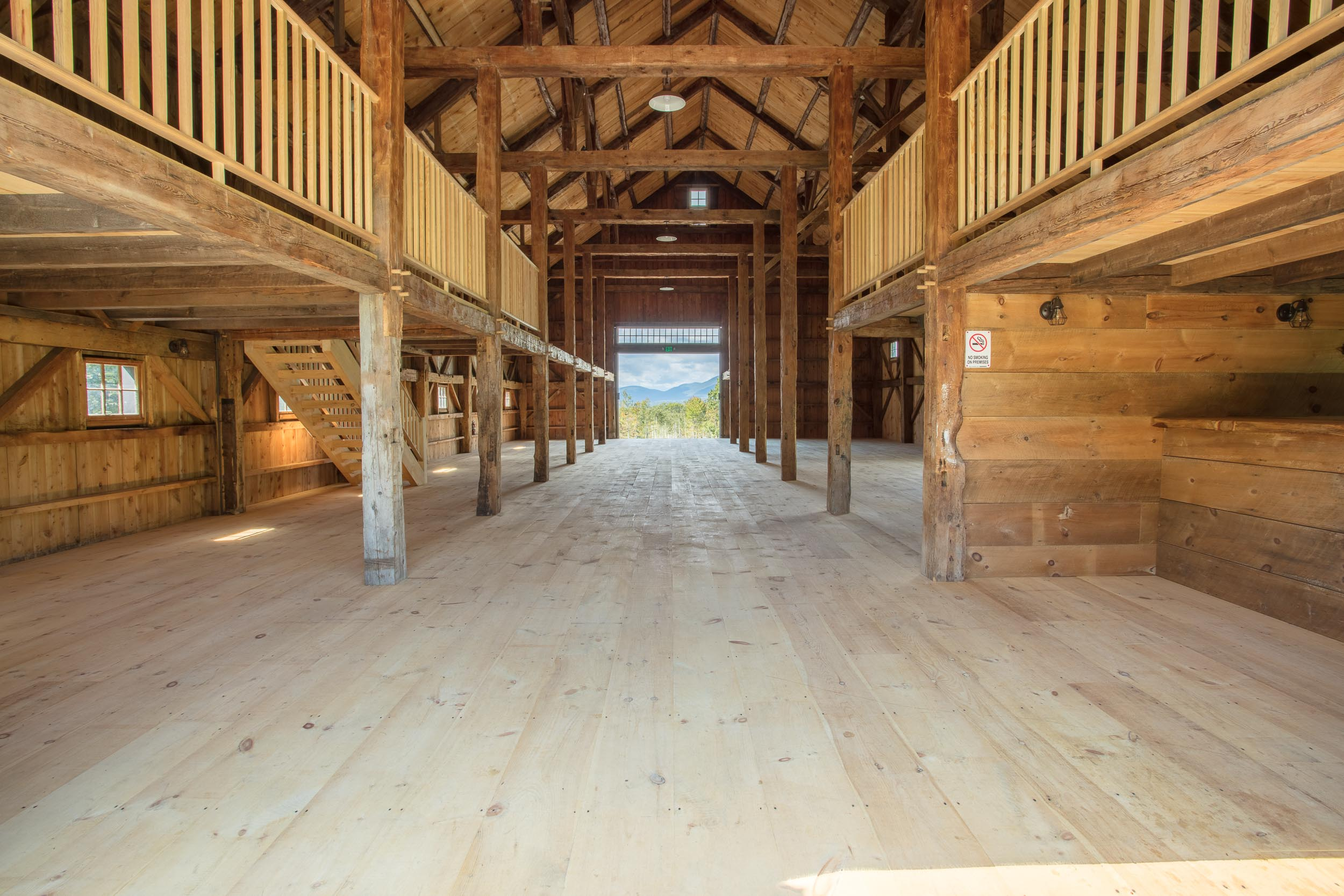 Rustic Barn at Whiteface Hollow