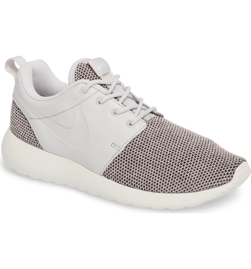 "Nike Roshe One Knit Sneaker in ""Vast Grey"" $85, Nordstrom.com"