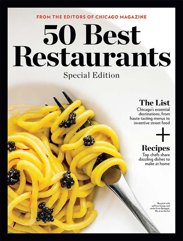 Chicago Magazine 50 Best Restaurants Issue