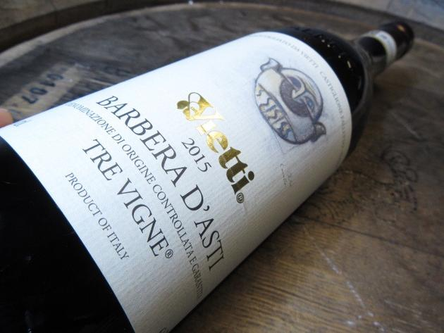 Barbera d'Asti for pasta and pizza nights