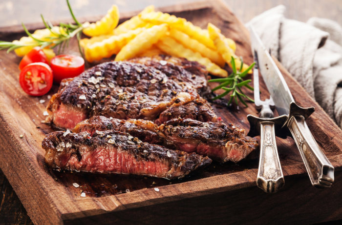 Steak Frites Paired With Ripe Reds