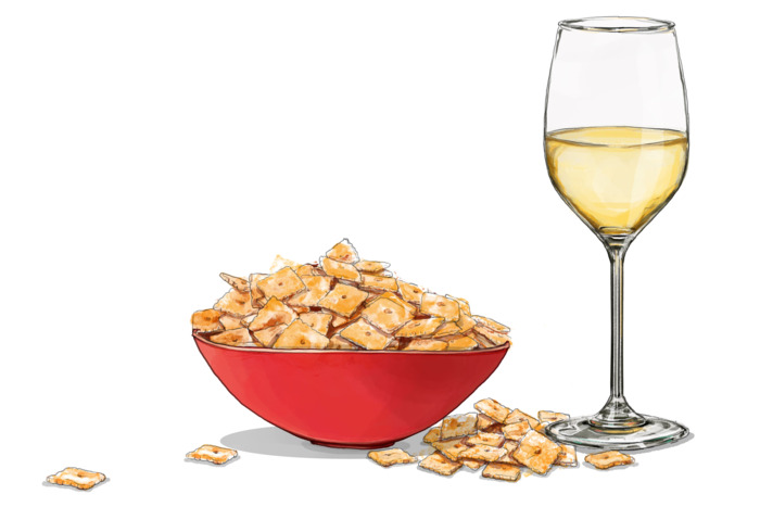 How to Pair Wine With Cheez-Its