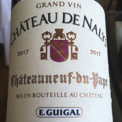 Guigal's First Releases from Nalys