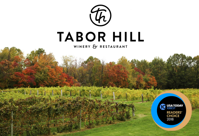 Vote for Tabor Hill for USA TODAY'S Best Winery Restaurant!