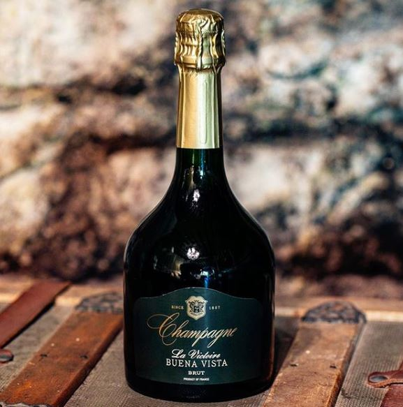 What's Popping in Sparkling Wine Packaging featuring Buena Vista