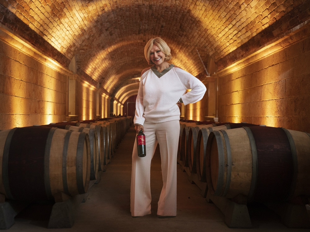 WINE MOGUL KATHRYN HALL ON FINDING THE PERFECT VINTAGE & THE BEST WINE SHE'S HAD ALL YEAR