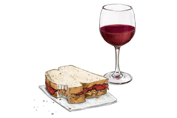 How to Pair Wine With Peanut Butter and Jelly!? With Cleto Chiarli!