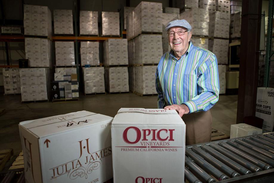 Wine industry icon Hubert Opici remembered as 'generous' and 'always sharp'