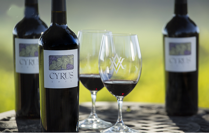 Lots announced for Sonoma County Wine Auction Including AVV Cyrus