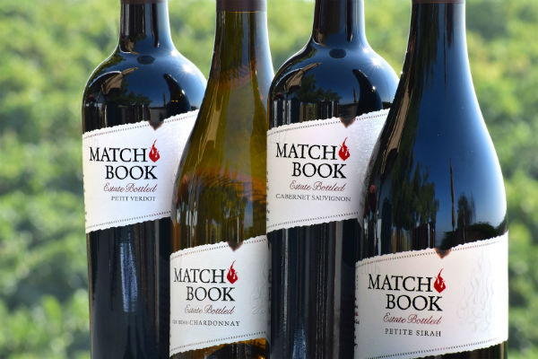 New Package for Matchbook Estate Wines