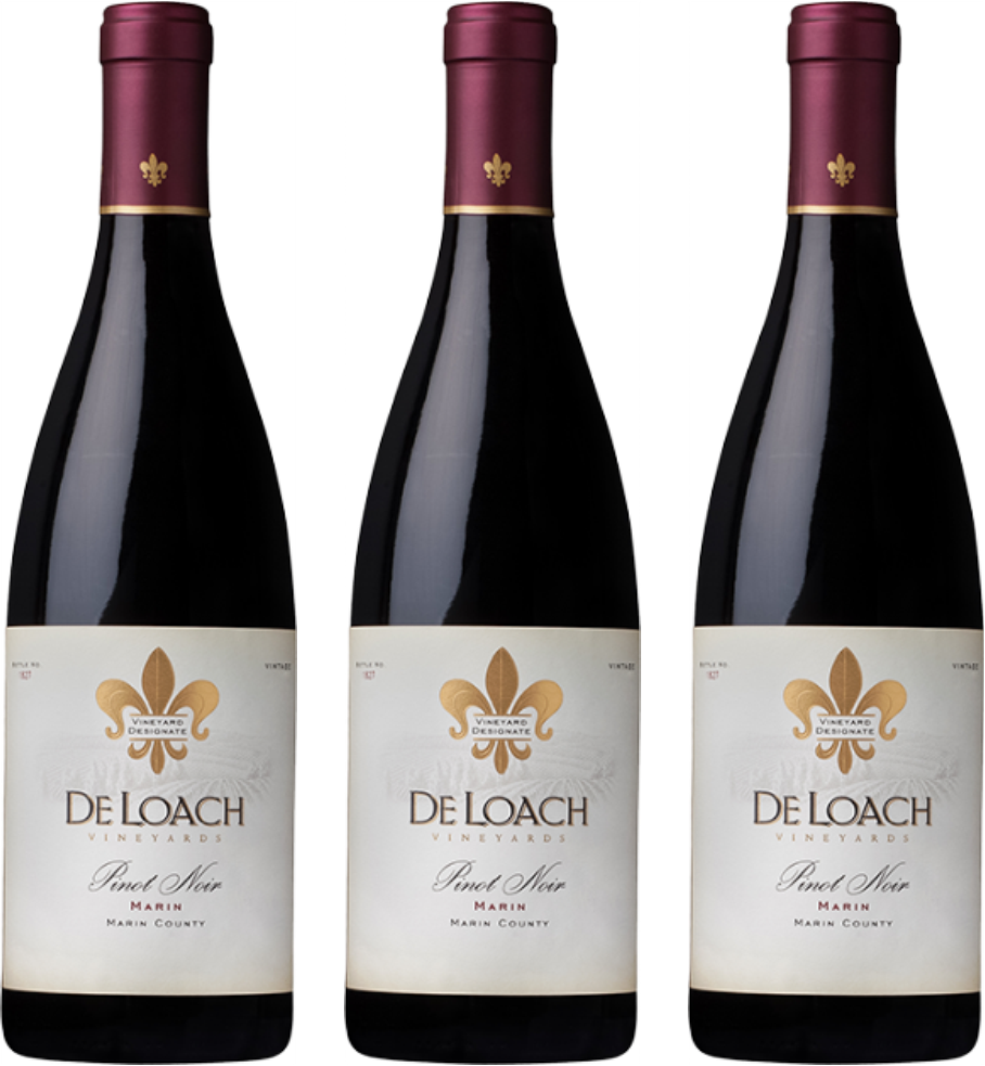 Boisset Takes Best of Marin Four Years in a Row with 2015 Pinot Noir