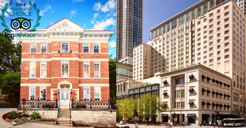 Jail Hill Inn and Peninsula Hotel Earn Top Spots