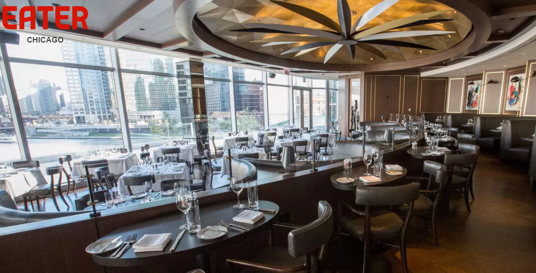 How a Riverside Italian Steakhouse Became Chicago's Most Beautiful New Restaurant