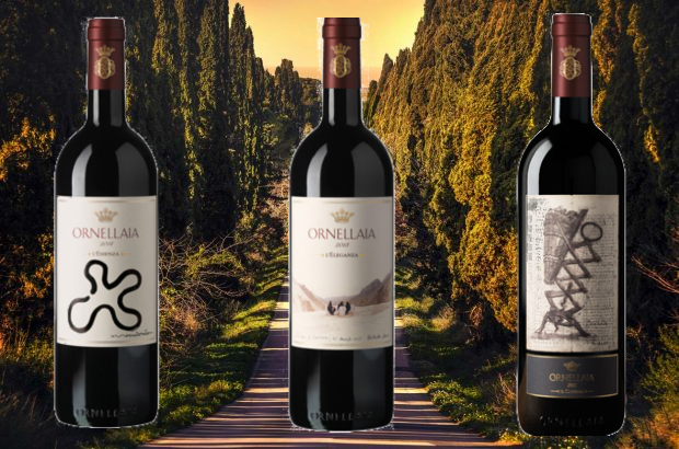 A taste of Bolgheri: Ornellaia wine 1990-2016
