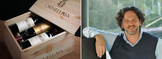 Ornellaia's Winemaker Opens Up
