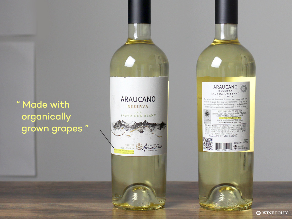 Three Great Reasons To Drink Wines Made With Organic Grapes