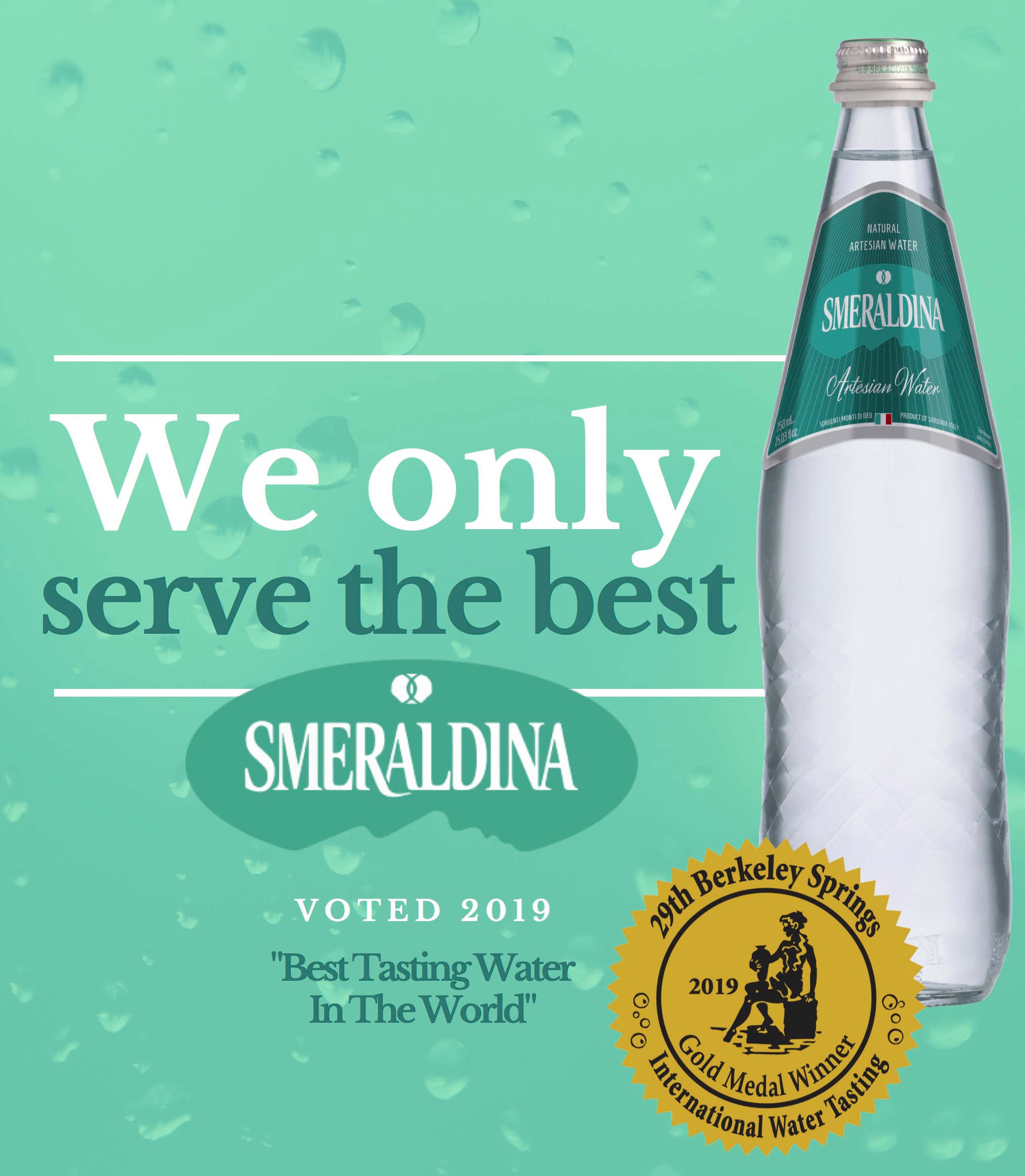 Smeraldina Wins 2019 Berkeley Springs Top Honor