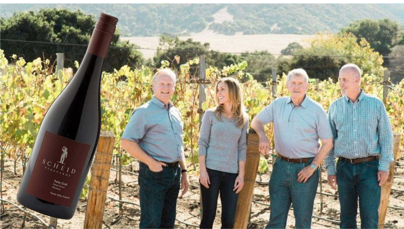 """Scheid Family Wines Announces Results Of Organic Petite Sirah Trials while presenting """"Winemaking Alternatives to Sulfur Dioxide"""""""