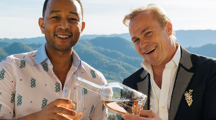 """From John Legend to Dave Matthews, These Celeb Wine Makers Want You Saying """"Yes Way Rosé"""""""