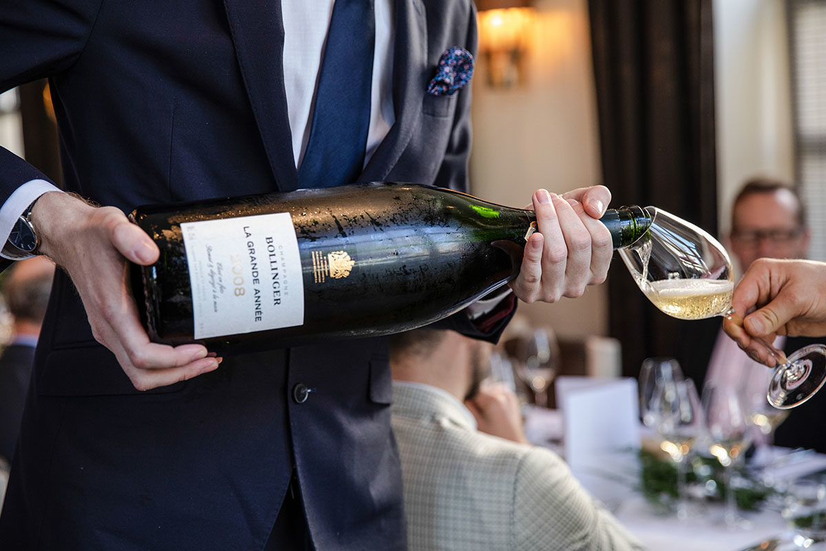 Vintus Launches Bollinger 2008 La Grande Année Champagne