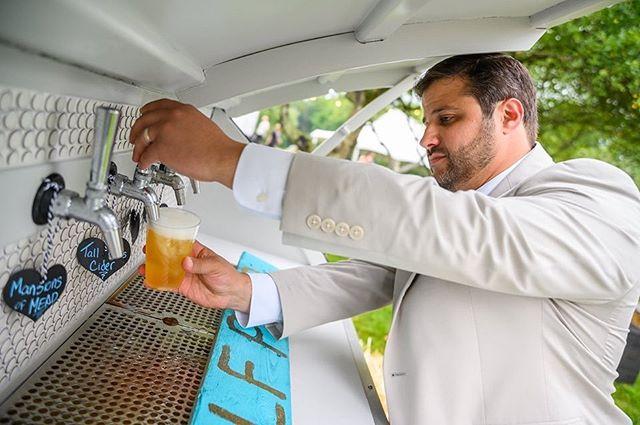 Introducing Half Pint!  #mobilebar #morristownbrides #wedding #socialevents #beer #craftbeer