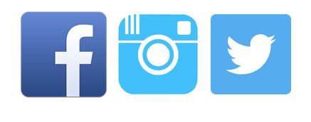Follow them on Social Media