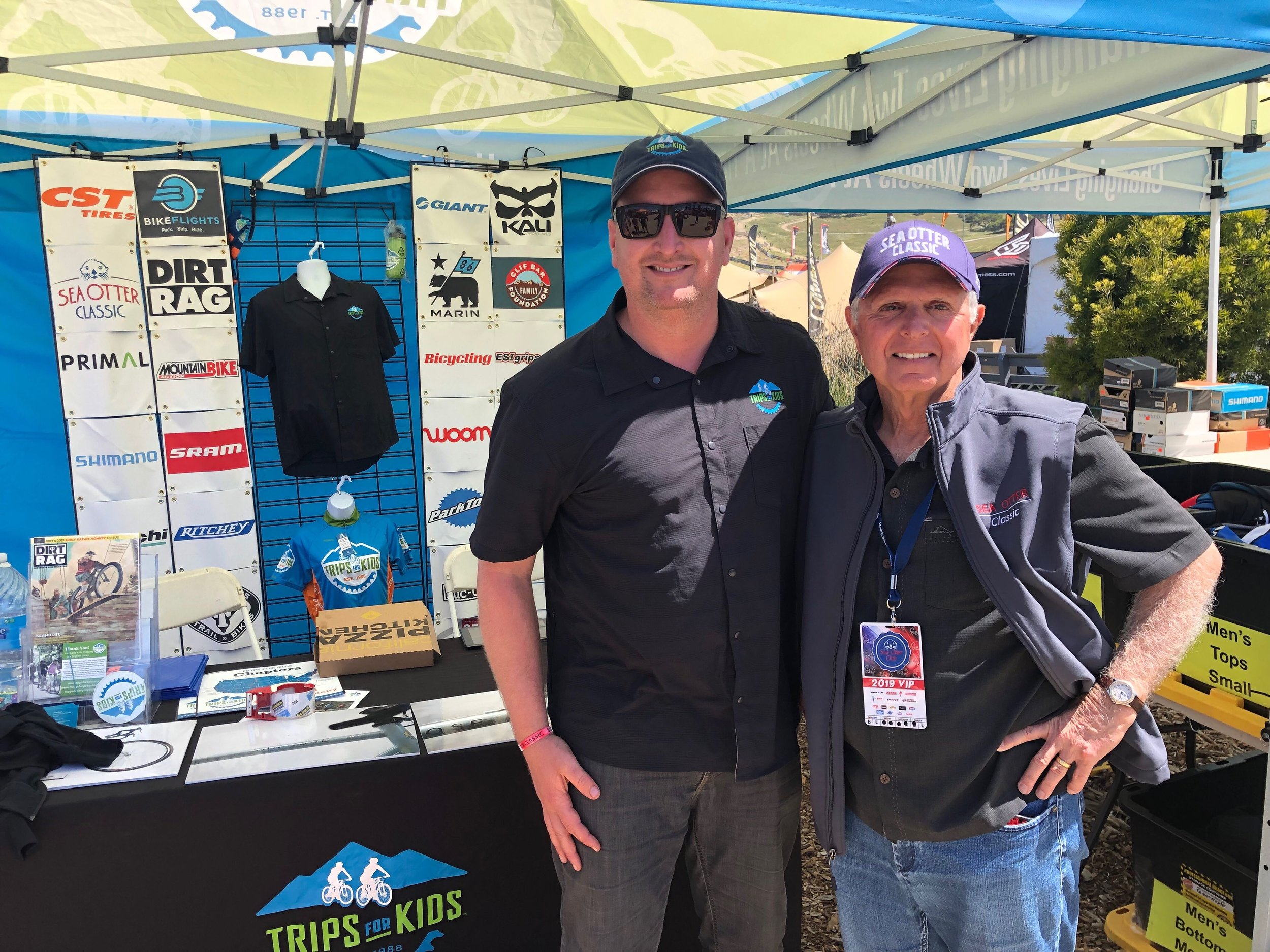 Sea Otter Classic 2019 _ Andy with Frank Yohannan.JPG