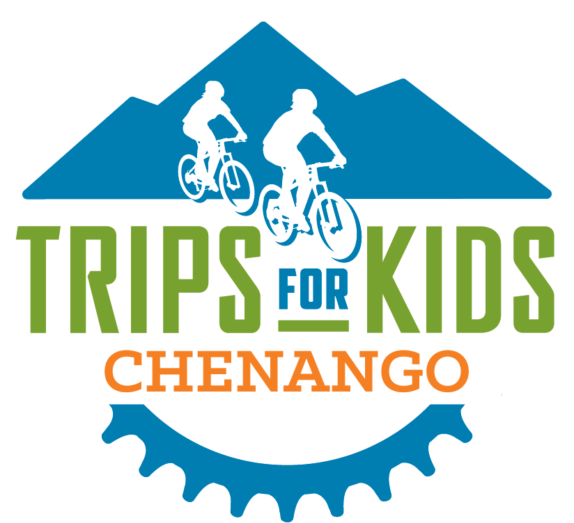 - Trips for Kids Chenango is fiscally-sponsored by Green's Lions Club, and is an affiliate chapter of Trips for Kids, a national 501c3 nonprofit youth development and education umbrella organization. Trips for Kids' mission is to give every kid in every community the opportunity to know the joy of riding a bike and the freedom to explore the natural world on two wheels.Since 1988 Trips for Kids has grown into a vast network of chapters located throughout North America. Trips for Kids has enriched the lives of more than 230,000 youth through Discovery Rides, Adventure Clubs, Mobile Bike Clinics, Earn-a-Bike Workshops and Youth@Work programs that help youth to be more active, experience natural places, gain environmental and STEM-based knowledge, build confidence and develop job readiness skills.To learn more about Trips for Kids, please click the national logo on the top left of this page.