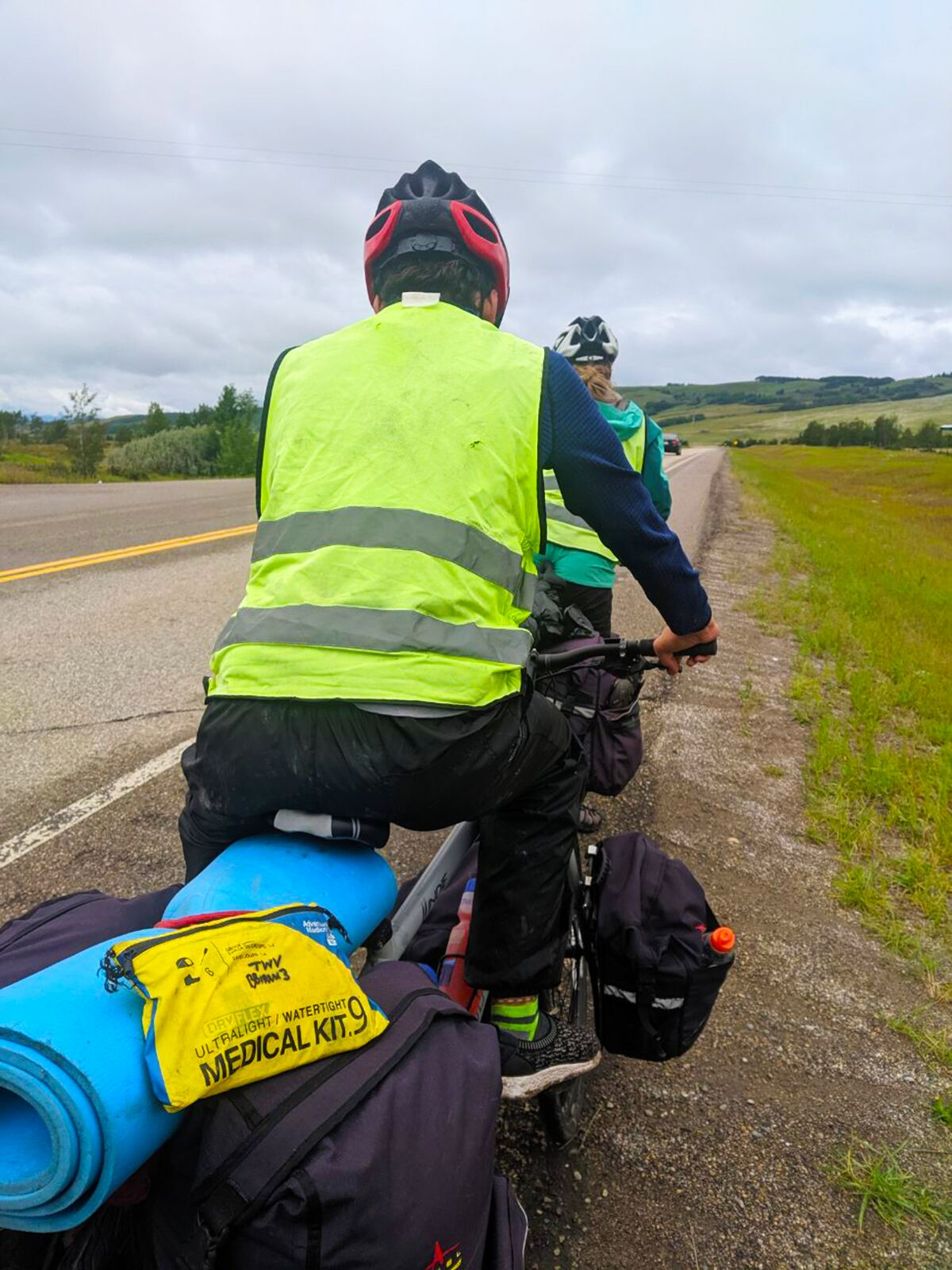 Adventure Medical Kits joins the ride with Trips for Kids Calgary (Canada) sponsored by Two Wheel View.