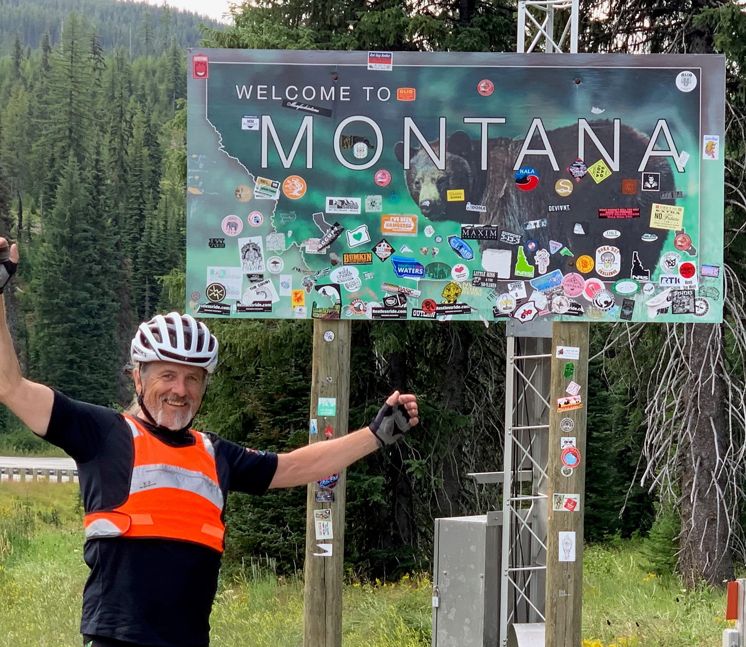 Zevia's Chief Strategy Officer and EVP of Sales and Marketing, Robert Gay , reaches Missoula, Montanta.