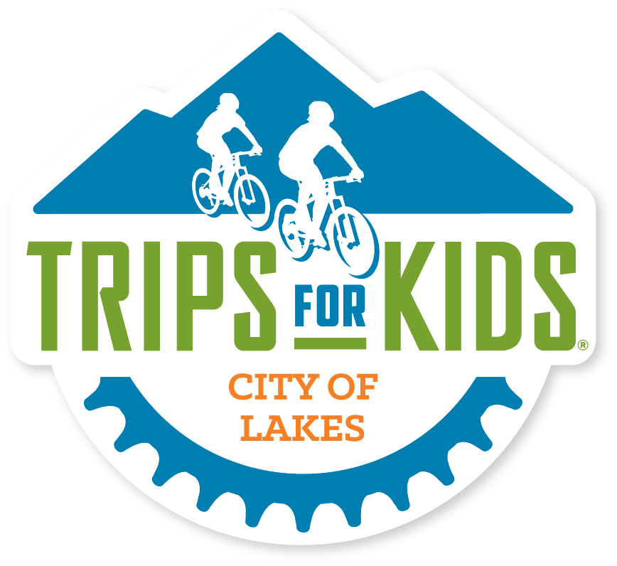 - Trips for Kids City of Lakes is fiscally-sponsored by Loppet Foundation, and is an affiliate chapter of Trips for Kids, a national 501c3 nonprofit youth development and education umbrella organization. Trips for Kids' mission is to give every kid in every community the opportunity to know the joy of riding a bike and the freedom to explore the natural world on two wheels.Since 1988 Trips for Kids has grown into a vast network of chapters located throughout North America. Trips for Kids has enriched the lives of more than 230,000 youth through Discovery Rides, Adventure Clubs, Mobile Bike Clinics, Earn-a-Bike Workshops and Youth@Work programs that help youth to be more active, experience natural places, gain environmental and STEM-based knowledge, build confidence and develop job readiness skills.To learn more about Trips for Kids, please click the national logo on the top left of this page.