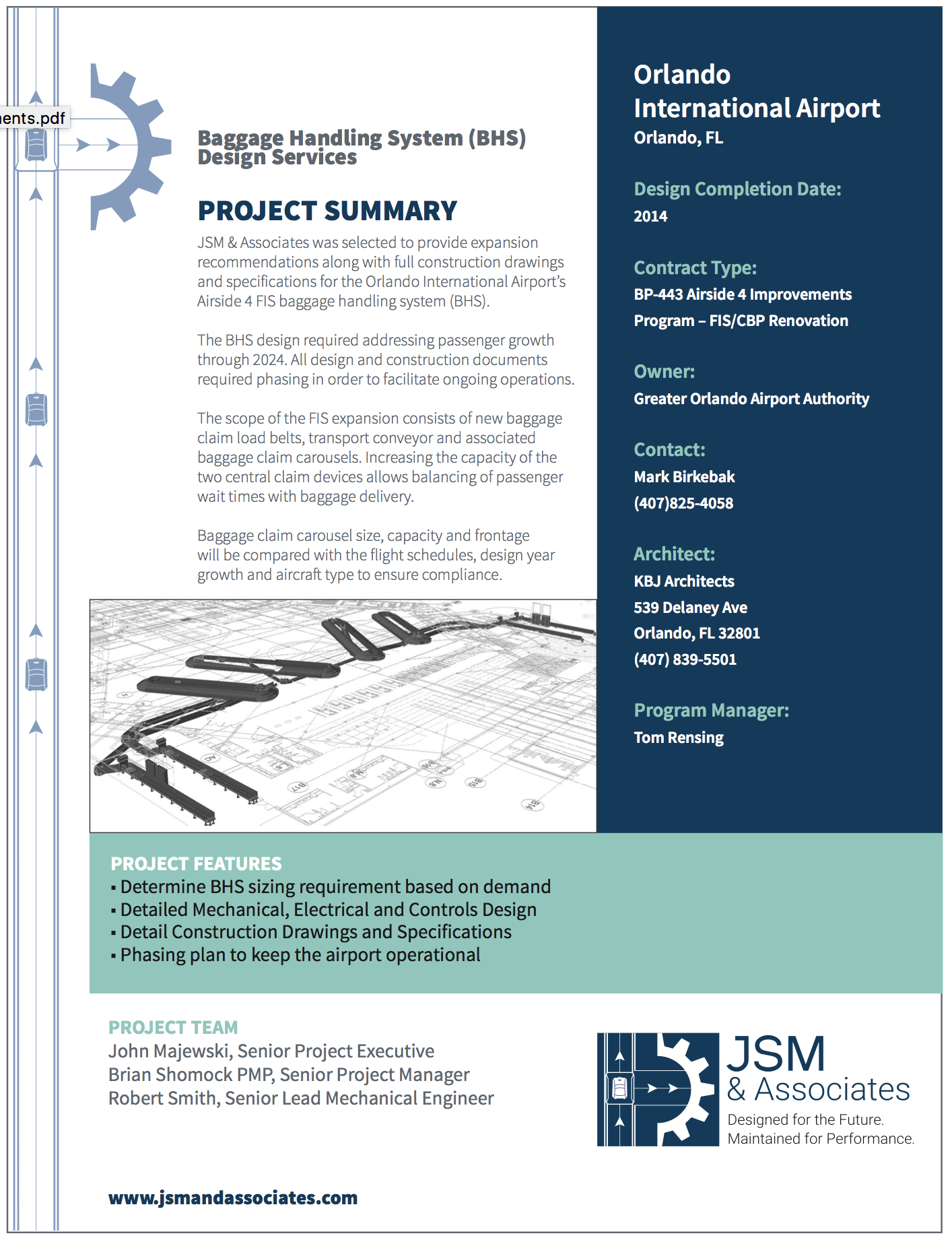 Click to See Full Project Specification Sheet