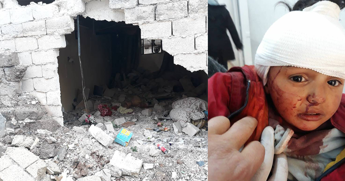 Destruction and suffering from Turkey's ongoing attacks in Syria and Iraq