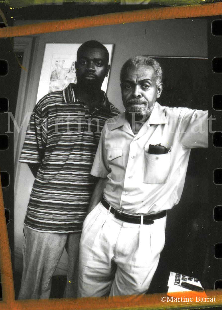 Copy of Photograph of the late Amiri Baraka taken by Martine Barrat