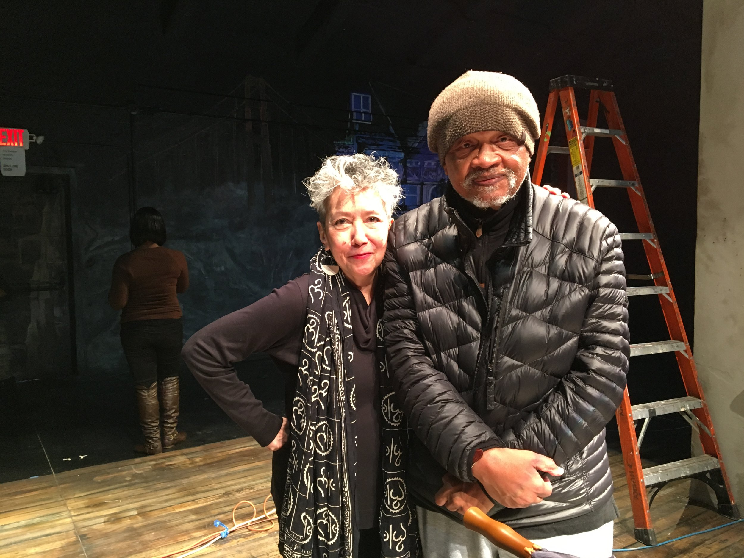 Jessica Hagedorn and Ishmael Reed. Photograph by Carla Blank.