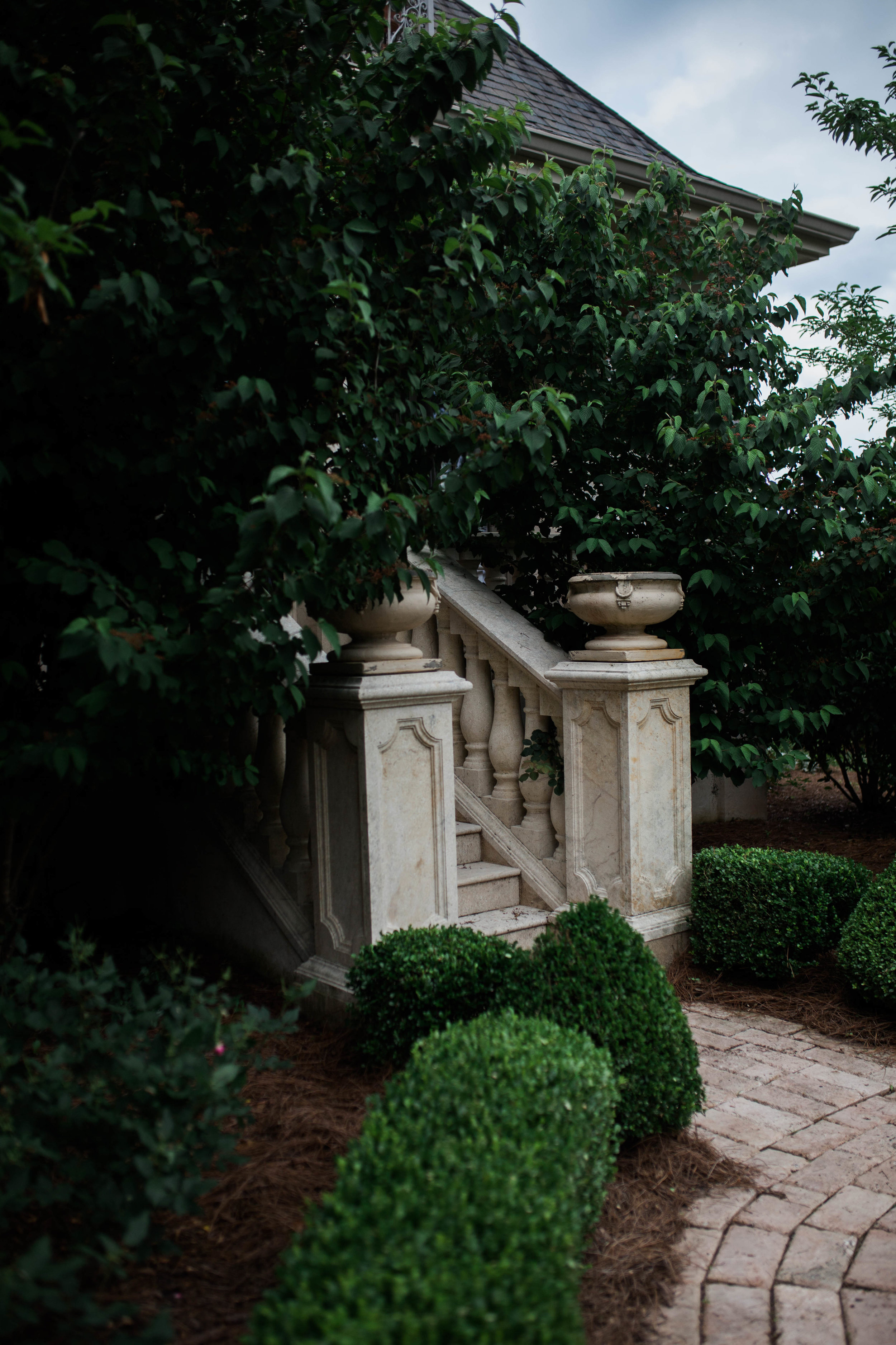 StoneWood Farms | Tuscaloosa, AL | Secluded staircase